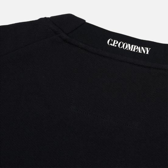 Мужская толстовка C.P. Company Light Fleece Arm Lens Crew Neck Black