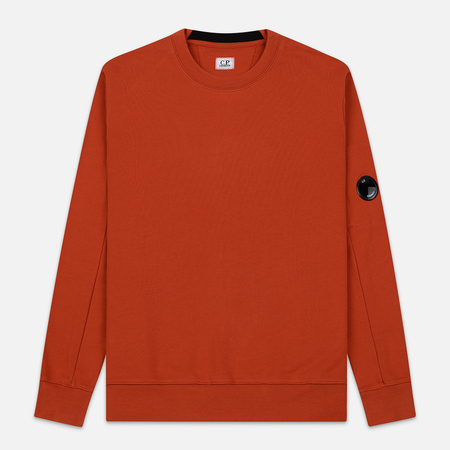 Мужская толстовка C.P. Company Light Fleece Arm Lens Crew Neck Pureed Pumpkin