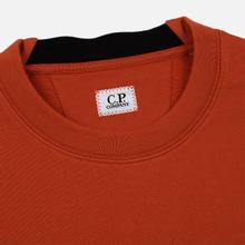 Мужская толстовка C.P. Company Light Fleece Arm Lens Crew Neck Pureed Pumpkin фото- 1
