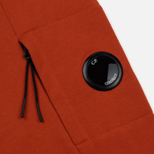 Мужская толстовка C.P. Company Light Fleece Arm Lens Crew Neck Pureed Pumpkin фото- 3