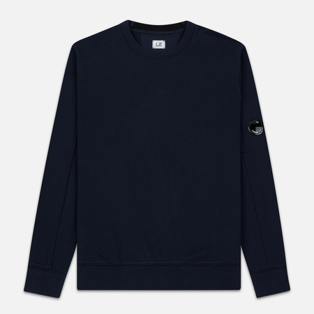 Мужская толстовка C.P. Company Light Fleece Arm Lens Crew Neck Total Eclipse