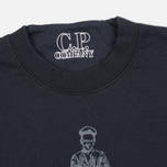 Мужская толстовка C.P. Company Logo Sailor Print Round Neck Grey фото- 1