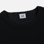 Мужская толстовка C.P. Company Print Logo Crew Neck Caviar фото- 1