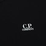 Мужская толстовка C.P. Company Print Logo Crew Neck Caviar фото- 2