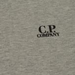 Мужская толстовка C.P. Company Print Logo Crew Neck Grey Melange фото- 2