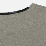 Мужская толстовка C.P. Company Print Logo Crew Neck Grey Melange фото- 4
