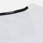 Мужская толстовка C.P. Company Print Logo Crew Neck Optic White фото- 4