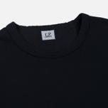 Мужская толстовка C.P. Company Print Logo Crew Neck Total Eclipse фото- 1