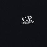 Мужская толстовка C.P. Company Print Logo Crew Neck Total Eclipse фото- 2