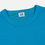 Мужская толстовка C.P. Company Print Logo Crew Neck Turquoise фото- 1