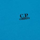 Мужская толстовка C.P. Company Print Logo Crew Neck Turquoise фото- 2