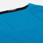 Мужская толстовка C.P. Company Print Logo Crew Neck Turquoise фото- 4