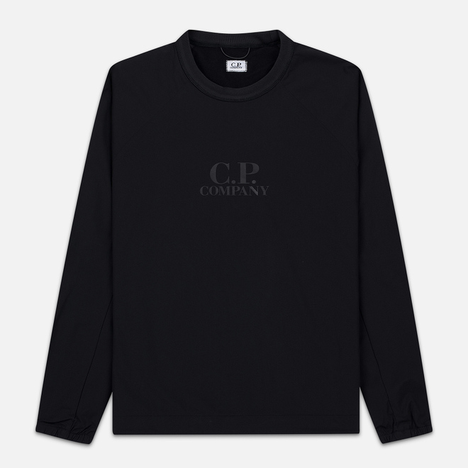Мужская толстовка C.P. Company Pro-Tek Chest Logo Black