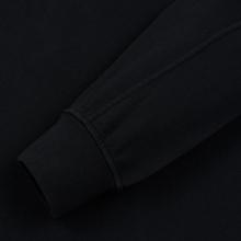 Мужская толстовка C.P. Company Straight Logo Crew Neck Black фото- 3