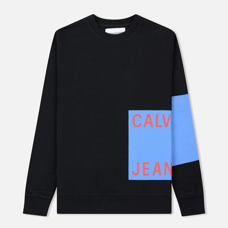 Мужская толстовка Calvin Klein Jeans Block Print Logo Black