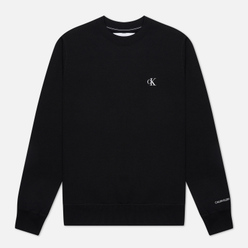 Мужская толстовка Calvin Klein Jeans Embroidered Logo Black