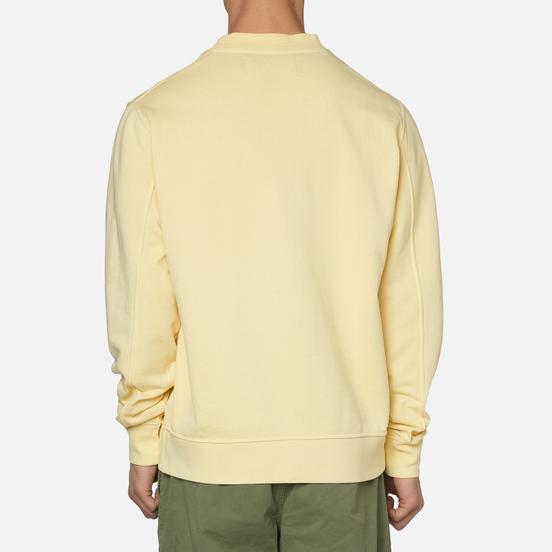 Мужская толстовка Calvin Klein Jeans Embroidered Logo Crew Mimosa Yellow