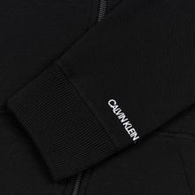 Мужская толстовка Calvin Klein Jeans Essential Zip Hoodie Black фото- 3