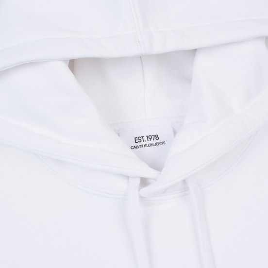 Мужская толстовка Calvin Klein Jeans Est. 1978 Back Modernist Graphic Hoodie Bright White/Eagle
