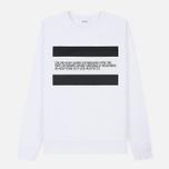 Мужская толстовка Calvin Klein Jeans Est. 1978 Est. 1978 Patch Crew Neck Bright White/Black фото- 0