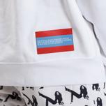 Мужская толстовка Calvin Klein Jeans Est. 1978 Est. 1978 Patch Crew Neck Bright White/Tomato/Regatta фото- 8