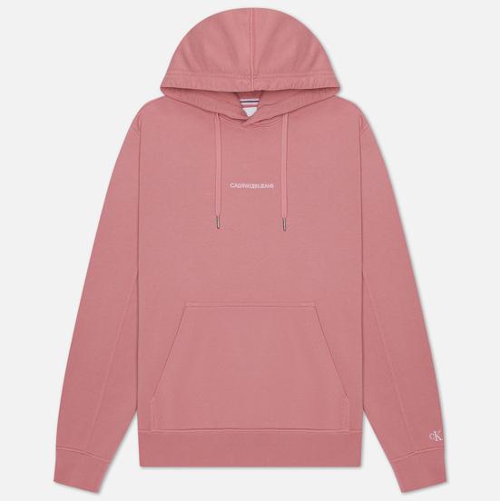 Мужская толстовка Calvin Klein Jeans Instit Chest Logo Hoodie Brandied Apricot
