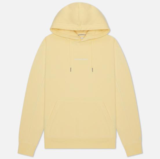 Мужская толстовка Calvin Klein Jeans Instit Chest Logo Hoodie Mimosa Yellow