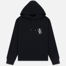 Мужская толстовка Calvin Klein Jeans Mirrored Monogram Logo Black/Bright White фото- 0