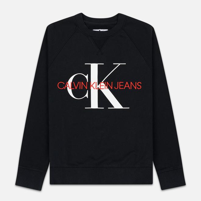 Мужская толстовка Calvin Klein Jeans Monogram Logo Black