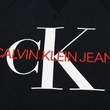 Мужская толстовка Calvin Klein Jeans Monogram Logo Black фото- 2
