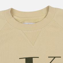 Мужская толстовка Calvin Klein Jeans Monogram Logo Bleached Sand фото- 1