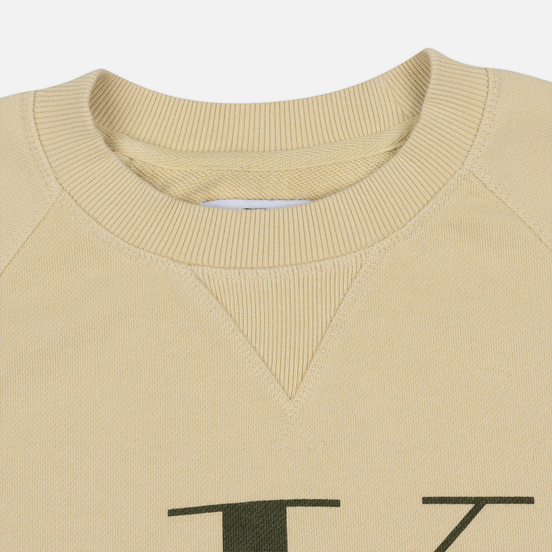 Мужская толстовка Calvin Klein Jeans Monogram Logo Bleached Sand
