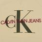 Мужская толстовка Calvin Klein Jeans Monogram Logo Bleached Sand фото - 2
