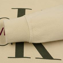 Мужская толстовка Calvin Klein Jeans Monogram Logo Bleached Sand фото- 3