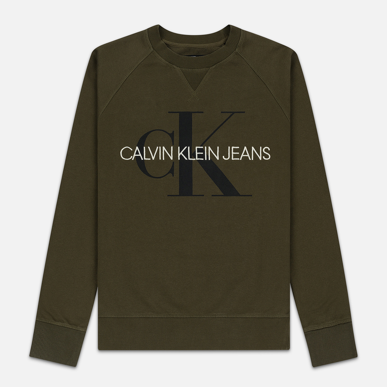 Мужская толстовка Calvin Klein Jeans Monogram Logo Grape Leaf