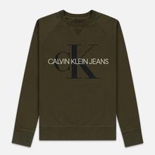 Мужская толстовка Calvin Klein Jeans Monogram Logo Grape Leaf фото- 0