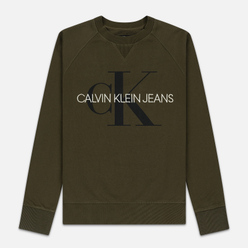 Мужская толстовка Calvin Klein Jeans Monogram Logo Grape Leaf