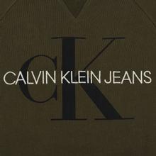Мужская толстовка Calvin Klein Jeans Monogram Logo Grape Leaf фото- 2