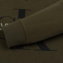 Мужская толстовка Calvin Klein Jeans Monogram Logo Grape Leaf фото- 3