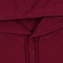 Мужская толстовка Calvin Klein Jeans Monogram Logo Hoodie Beet Red фото- 1