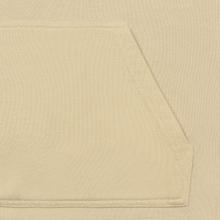 Мужская толстовка Calvin Klein Jeans Monogram Logo Hoodie Bleached Sand фото- 3