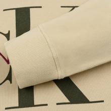 Мужская толстовка Calvin Klein Jeans Monogram Logo Hoodie Bleached Sand фото- 4