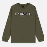 Мужская толстовка Carhartt WIP CA Training Rover Green/Multicolor фото- 0