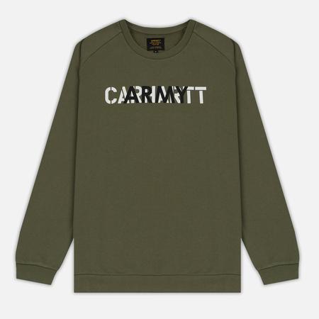 Carhartt WIP Мужская толстовка CA Training Rover Green/Multicolor