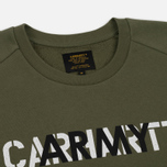 Мужская толстовка Carhartt WIP CA Training Rover Green/Multicolor фото- 1