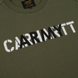Мужская толстовка Carhartt WIP CA Training Rover Green/Multicolor фото- 2