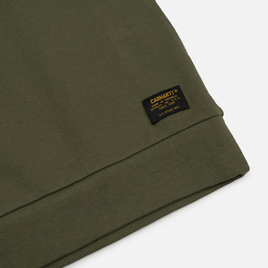 Мужская толстовка Carhartt WIP CA Training Rover Green/Multicolor