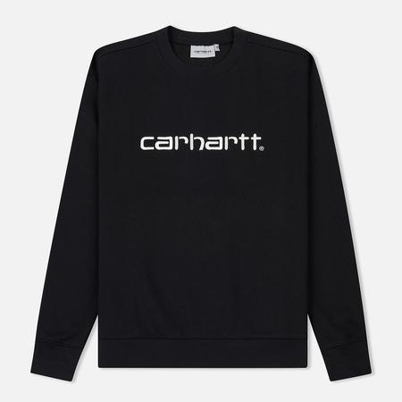 Мужская толстовка Carhartt WIP Carhartt 13 Oz Black/White