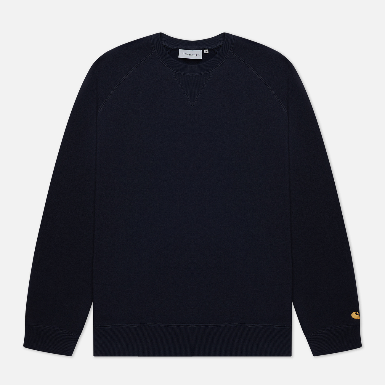 Мужская толстовка Carhartt WIP Chase 13 Oz Dark Navy/Gold