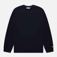 Мужская толстовка Carhartt WIP Chase 13 Oz Dark Navy/Gold фото- 0